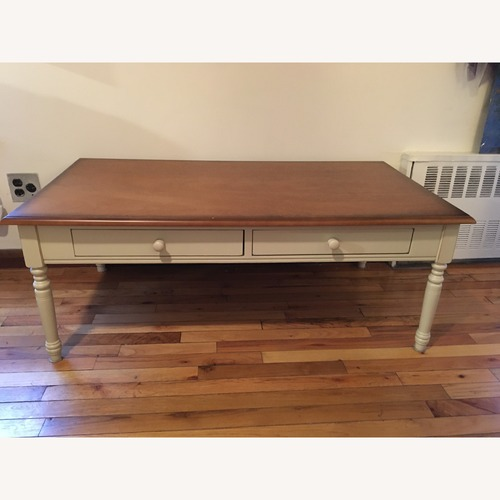 Used Coffee table with drawers for sale on AptDeco