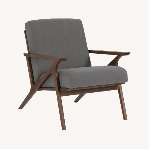 Used Article Otio Thunder Grey Walnut Chairs (Set of 2) for sale on AptDeco
