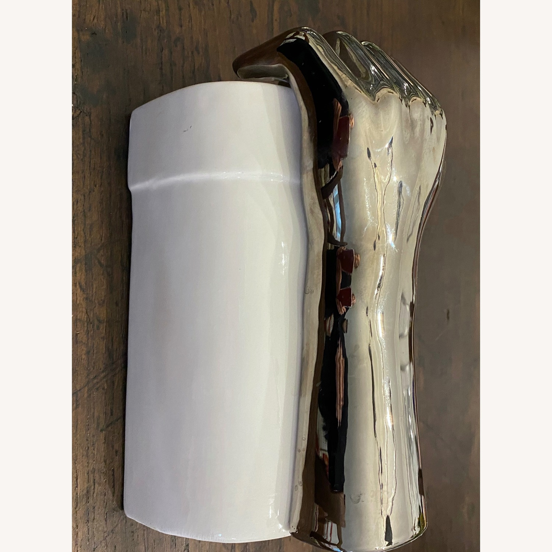 Mid Century Art Deco Bookend Vase
