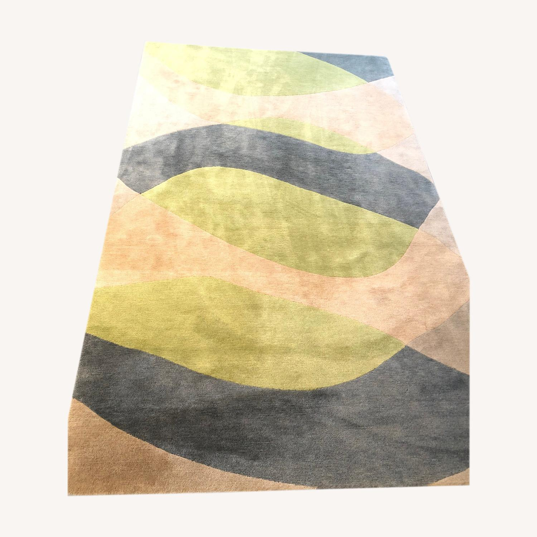 Custom designer Deirdre Dyson 100% Tibetan Wool Rug - image-0