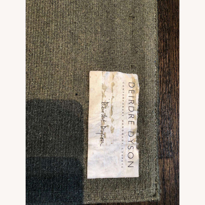 Custom designer Deirdre Dyson 100% Tibetan Wool Rug - image-4