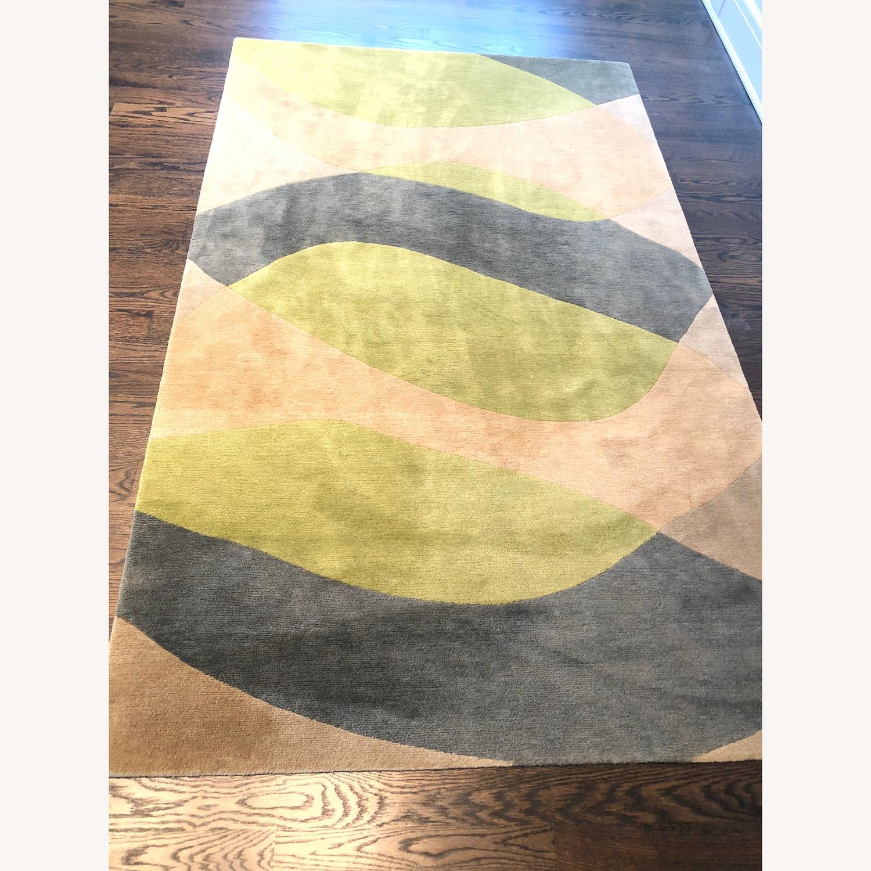 Custom designer Deirdre Dyson 100% Tibetan Wool Rug - image-2