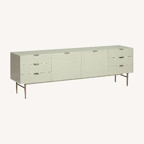 """Used West Elm Audrey Media Console 80"""" for sale on AptDeco"""