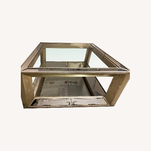 Used Z Gallerie Pristine condition Mirror Coffee Table for sale on AptDeco