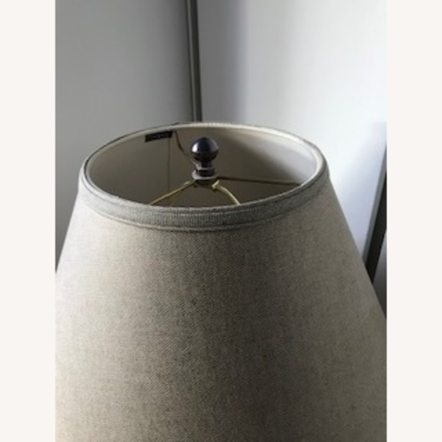 Porcelain Lamp with Custom Matching Shade