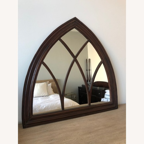 Used Wood Arch Solid Wood Mirror for sale on AptDeco