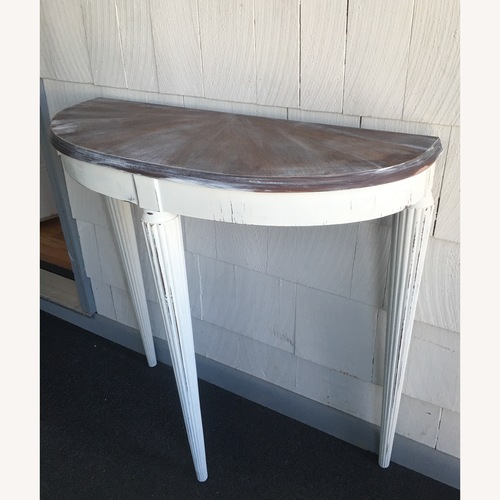 Used Farmhouse side table for sale on AptDeco