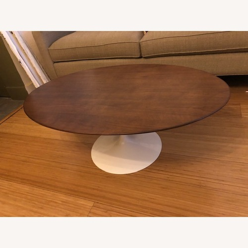 Used Saarinen Oval Coffee Table for sale on AptDeco