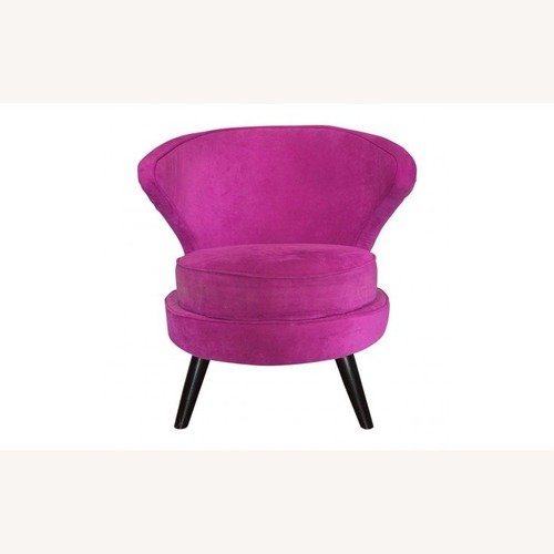 Used Cyan Magenta Girls Statement Piece Armchair for sale on AptDeco