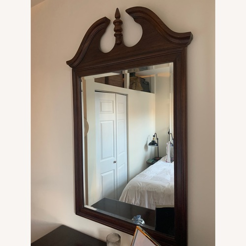 Used Vintage Brown Mirror for sale on AptDeco