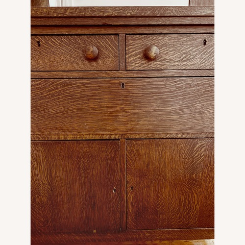 Used Antique Crafts Cabinet with Mirror for sale on AptDeco