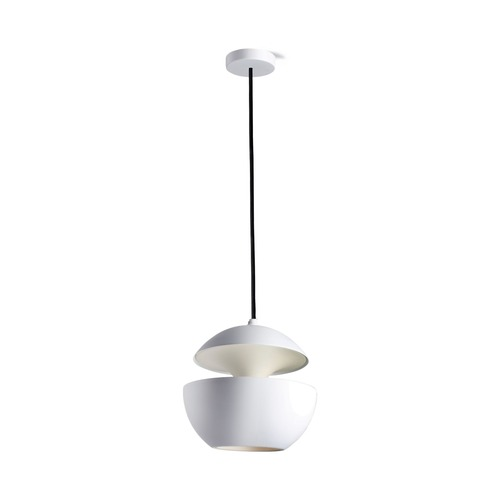 Used Design within Reach  Here Comes the Sun White Pendant Lamps for sale on AptDeco
