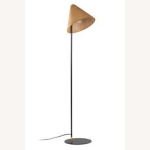 Used Article Grain Oak Floor Lamp for sale on AptDeco