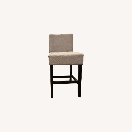Used Gray Fabric Bar Stools for sale on AptDeco