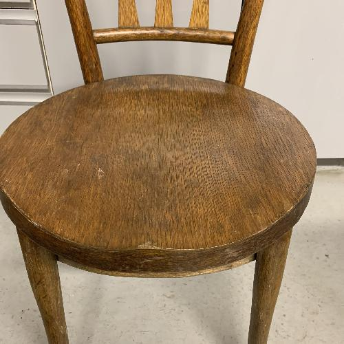 Used SET OF SIX ANTIQUE BENTWOOD CAFE CHAIRS for sale on AptDeco