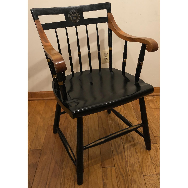 Vintage Nichols Stone Harvard University chair - image-0
