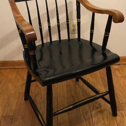 Used Vintage Nichols Stone Harvard University chair for sale on AptDeco