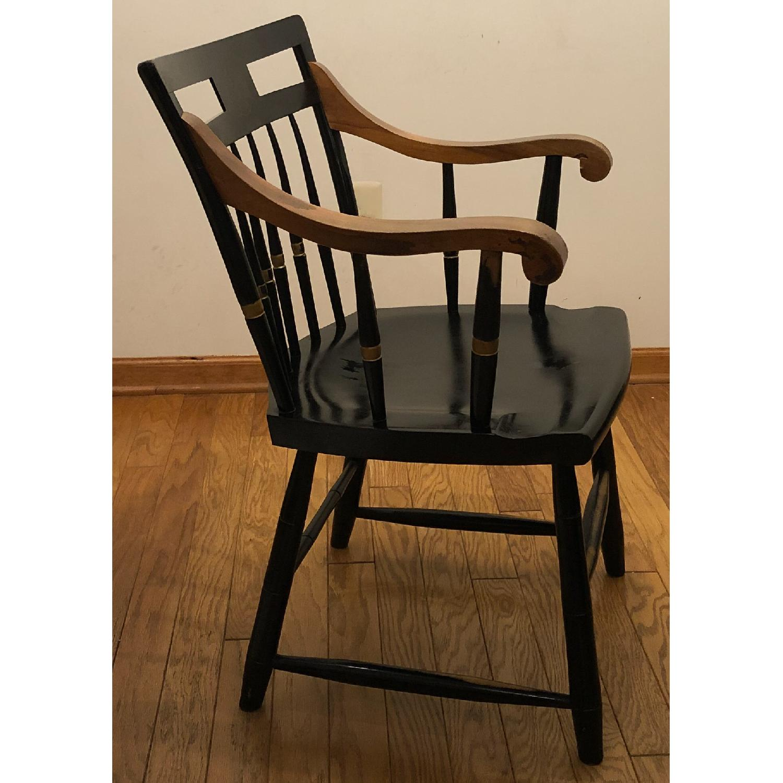 Vintage Nichols Stone Harvard University chair - image-2