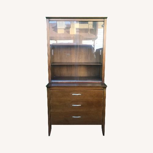 Used Mid century China cabinet Profile by Drexel for sale on AptDeco