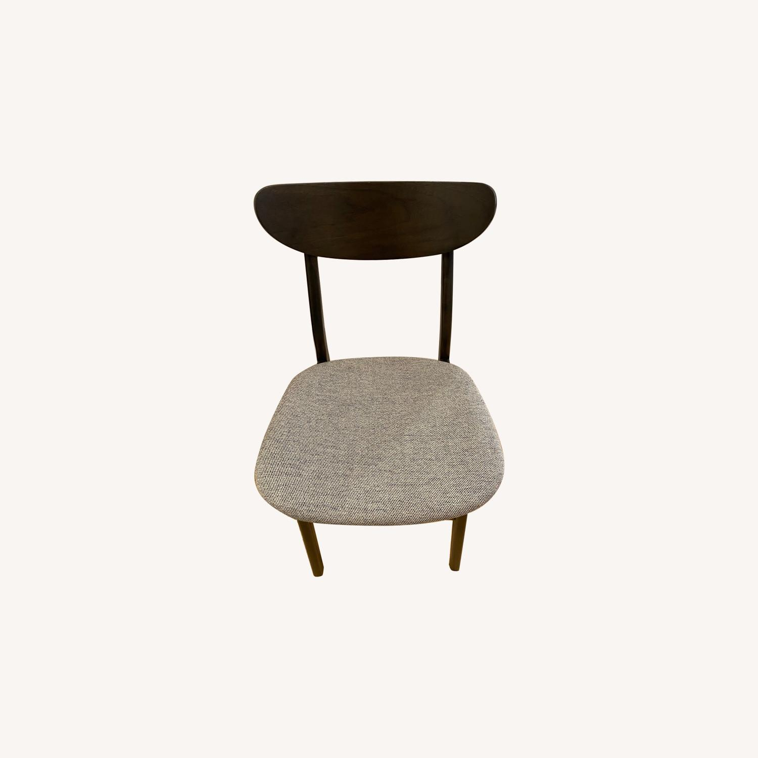 West Elm - Modern Office chair (black and grey) - image-0
