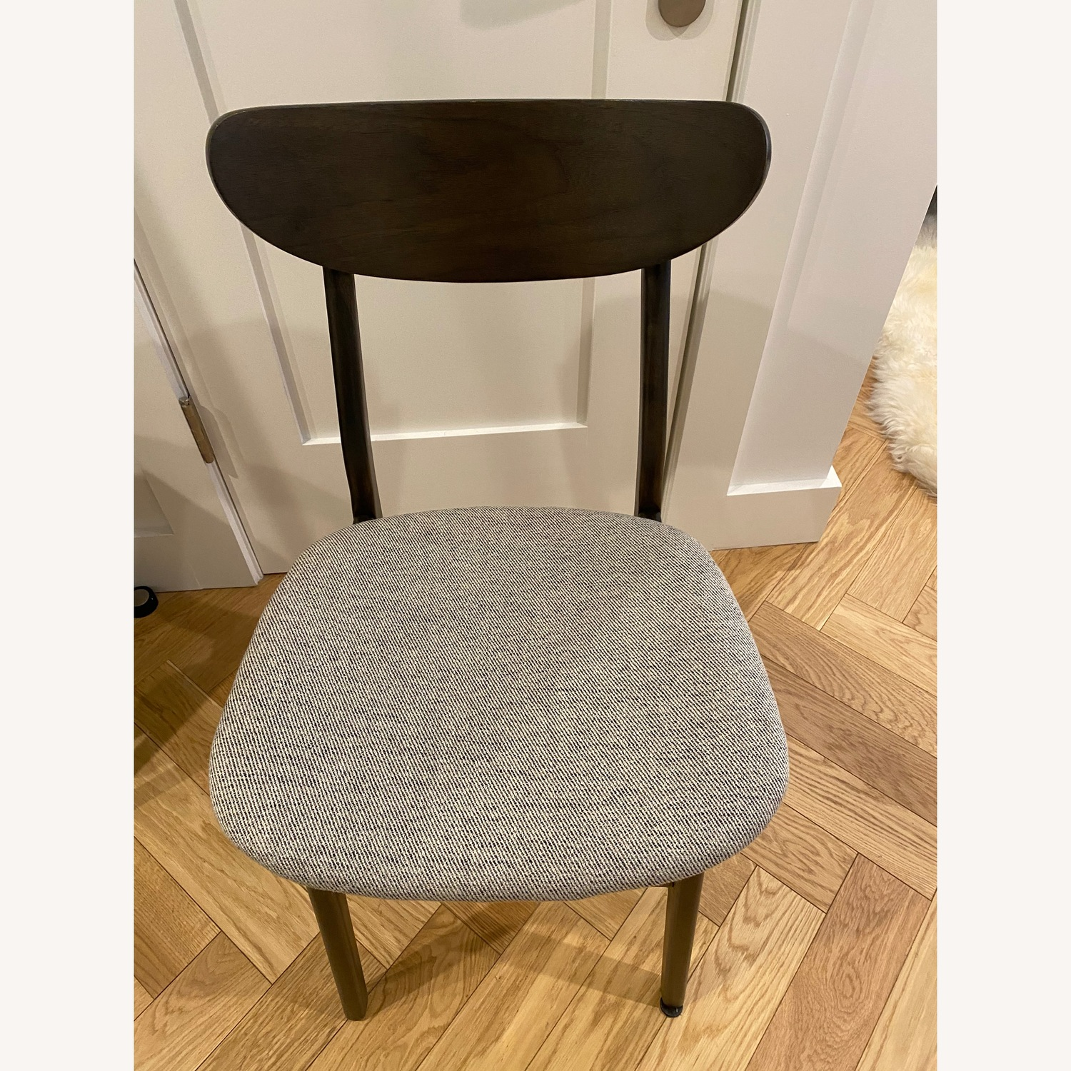 West Elm - Modern Office chair (black and grey) - image-1