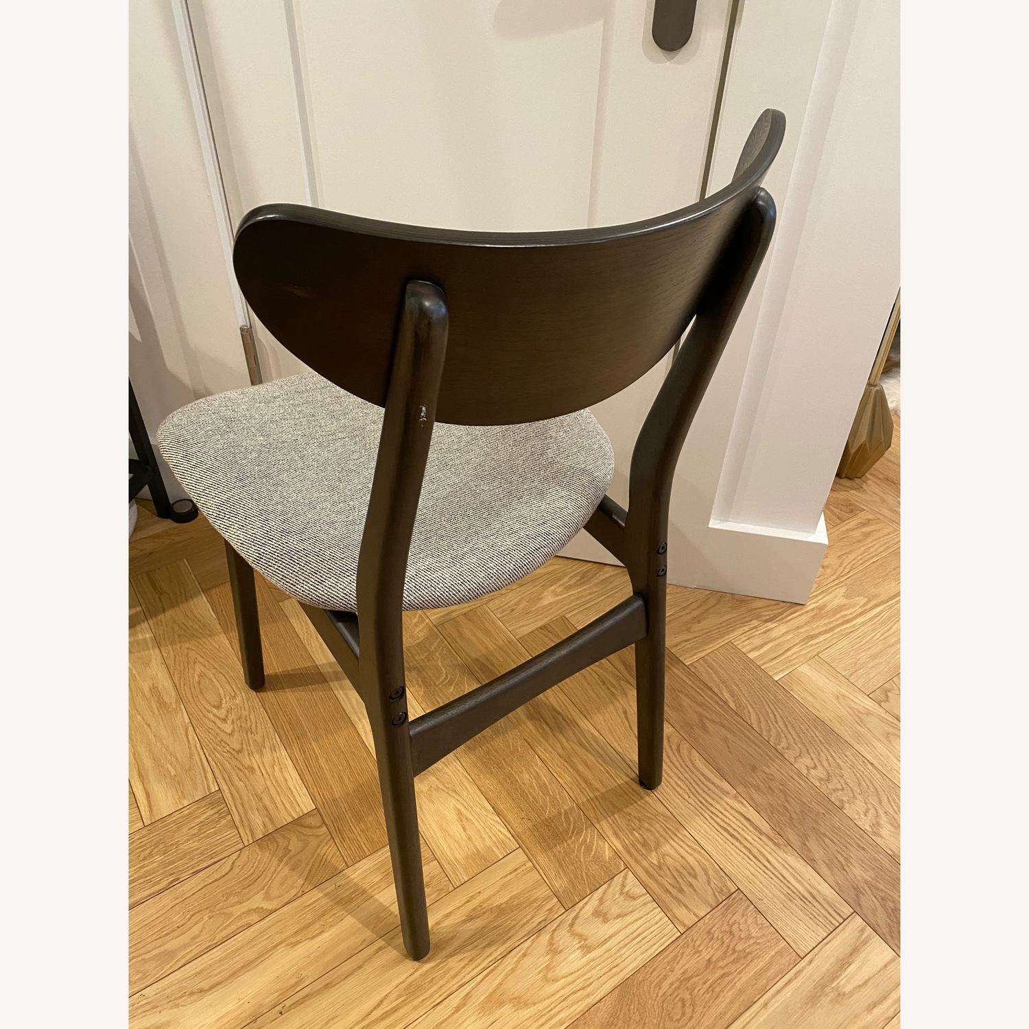West Elm - Modern Office chair (black and grey) - image-2