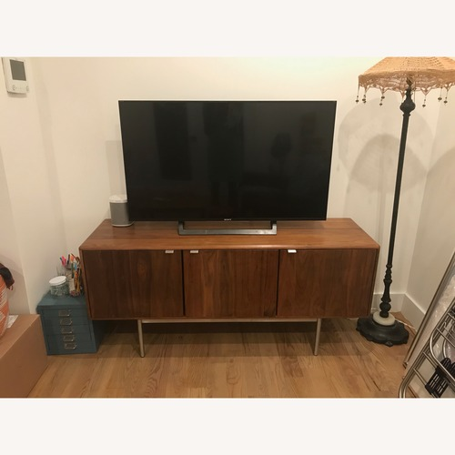 Used Room & Board Hensley Media Cabinet in Walnut for sale on AptDeco