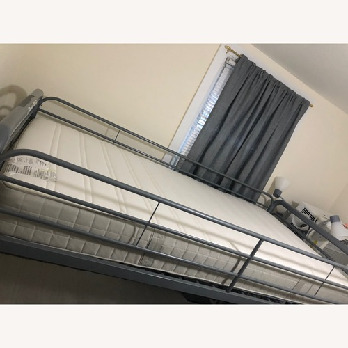 Used Twin over full bunk bed for sale on AptDeco