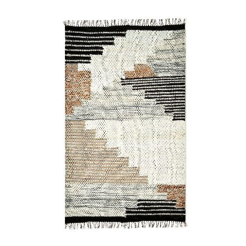 Used West Elm 5x8 Wool Rug for sale on AptDeco