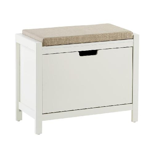 Used The Container Store Clybourn storage bench for sale on AptDeco