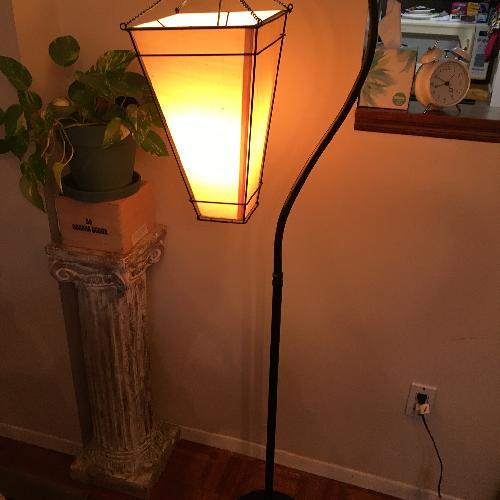 Used Pottery Barn Antique Floor Lamp for sale on AptDeco