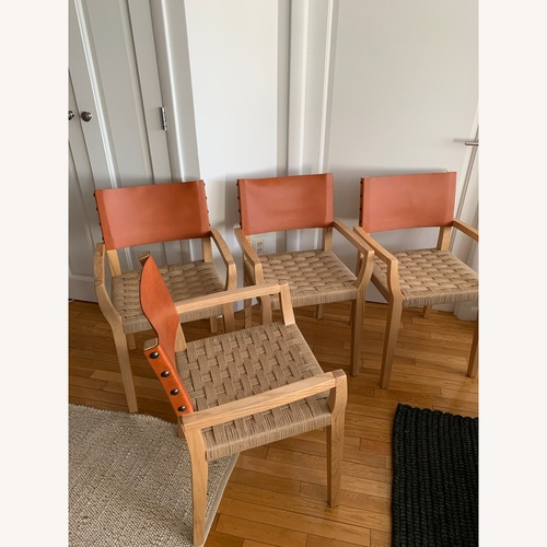 Used Set of Serena & Lily Dining Chairs for sale on AptDeco