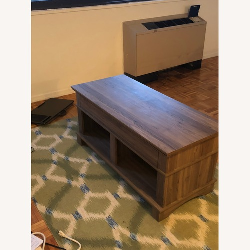 Used Highland Dunes Mcabee Lift Top Coffee Table for sale on AptDeco