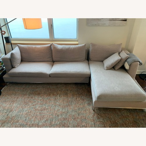 Used SoHo Concept Modern Sectional Couch for sale on AptDeco