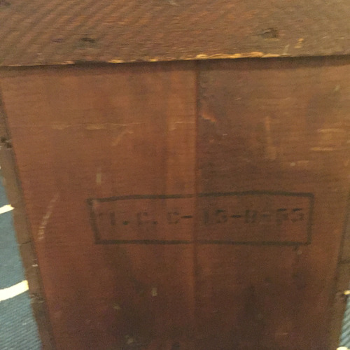 Used Sterling Place Antique Boston Wooden Box for sale on AptDeco