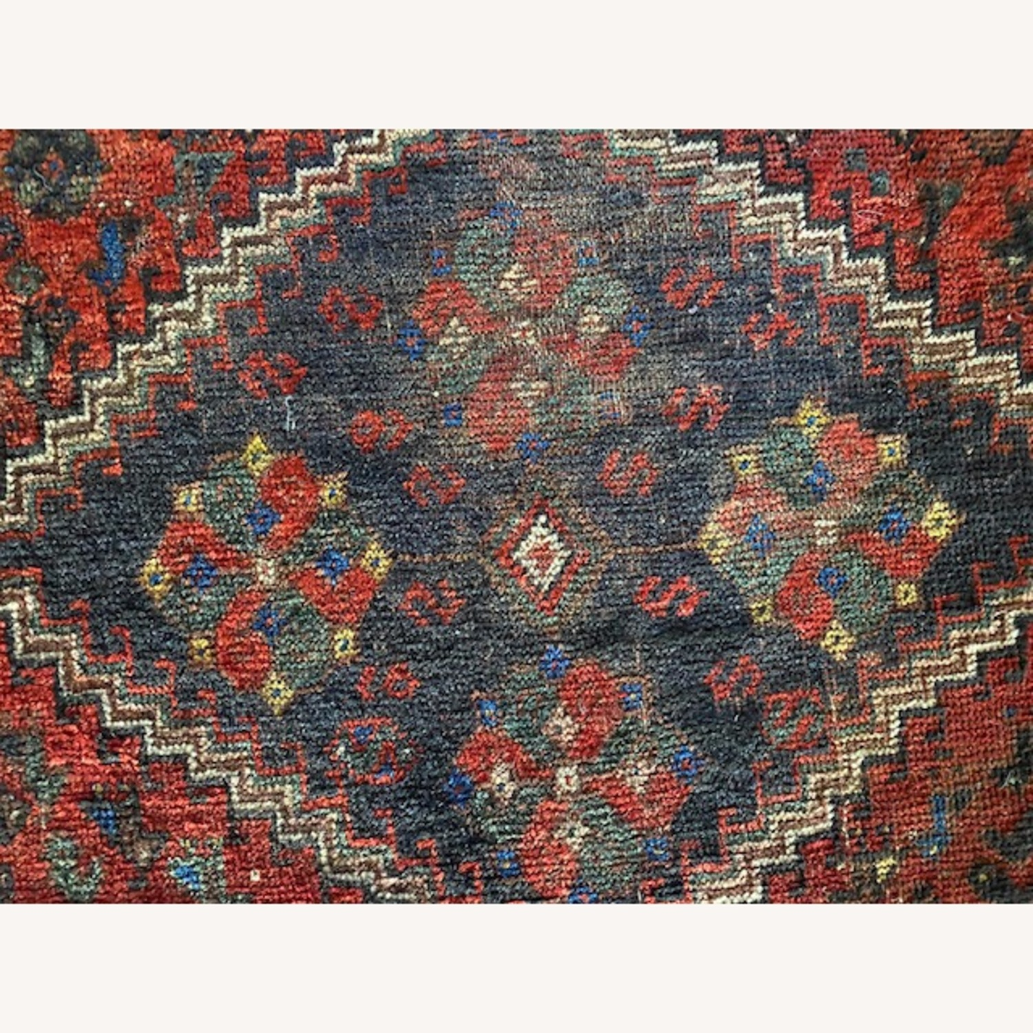 Vintage Persian Hand-knotted Wool Tribal Rug - image-2