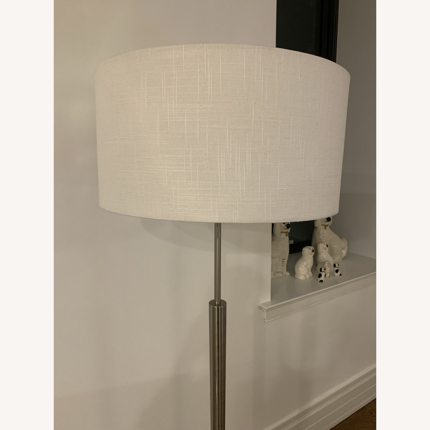 Stainless Steel Floor Lamp with Light Shade