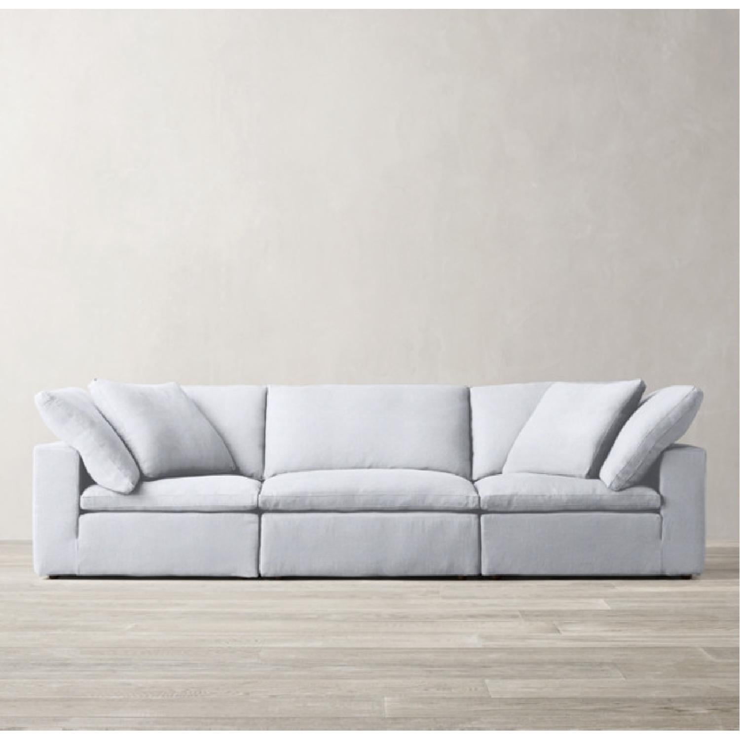 Restoration Hardware Cloud Couch - image-4