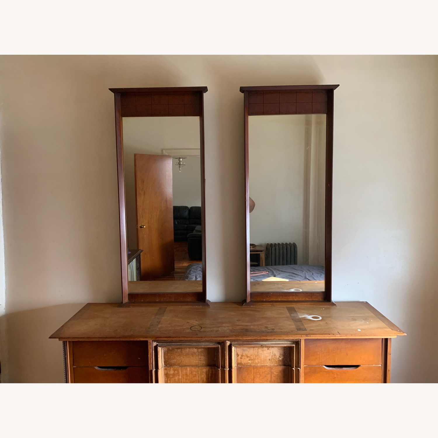 Dresser with mirrors - image-1