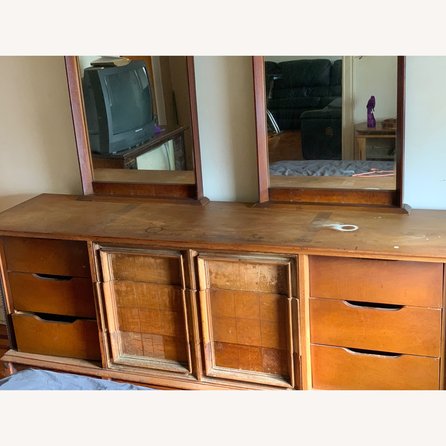 Dresser with mirrors - image-4