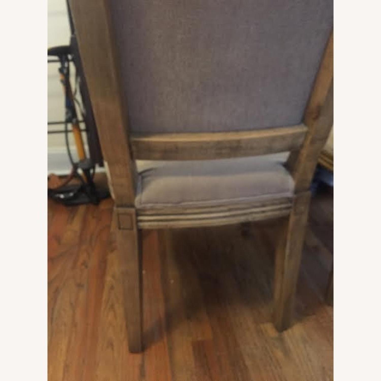 Restoration Hardware Vintage Beige Louis Dining Chairs - image-3