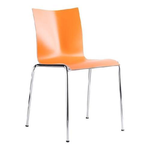 Used Engelbrechts Chairik Chairs (2) - Burnt Orange for sale on AptDeco