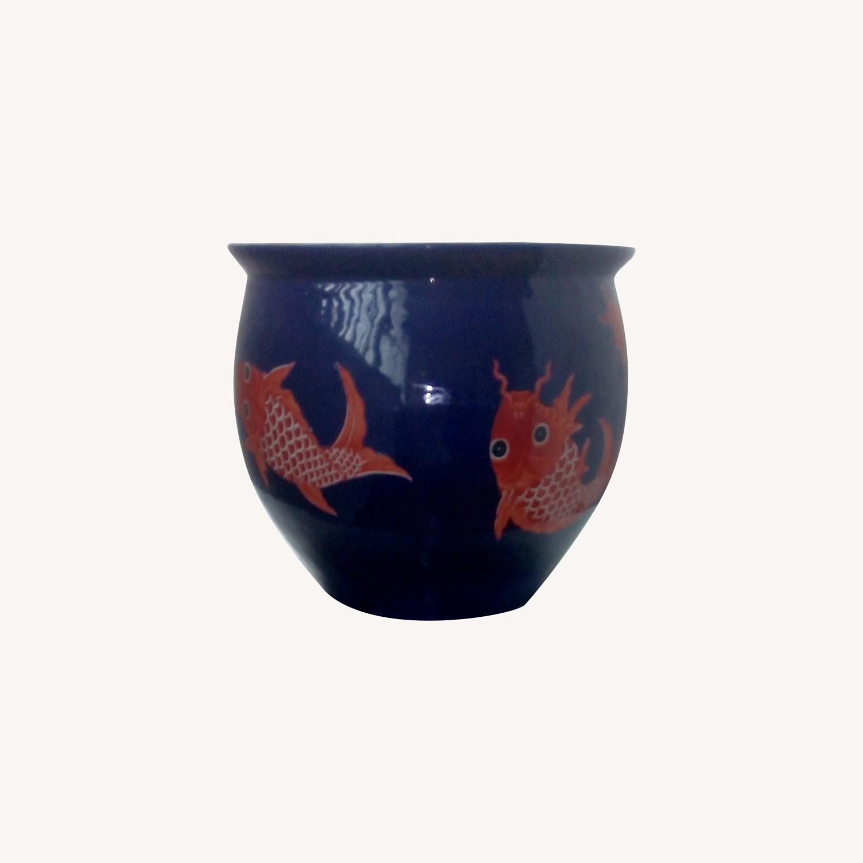 Ceramic Good Luck Chinese Pot