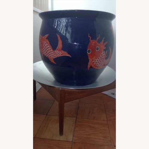 Used Ceramic Good Luck Chinese Pot for sale on AptDeco