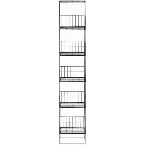 Used CB2 Open Wire Grid Tower Shelves for sale on AptDeco