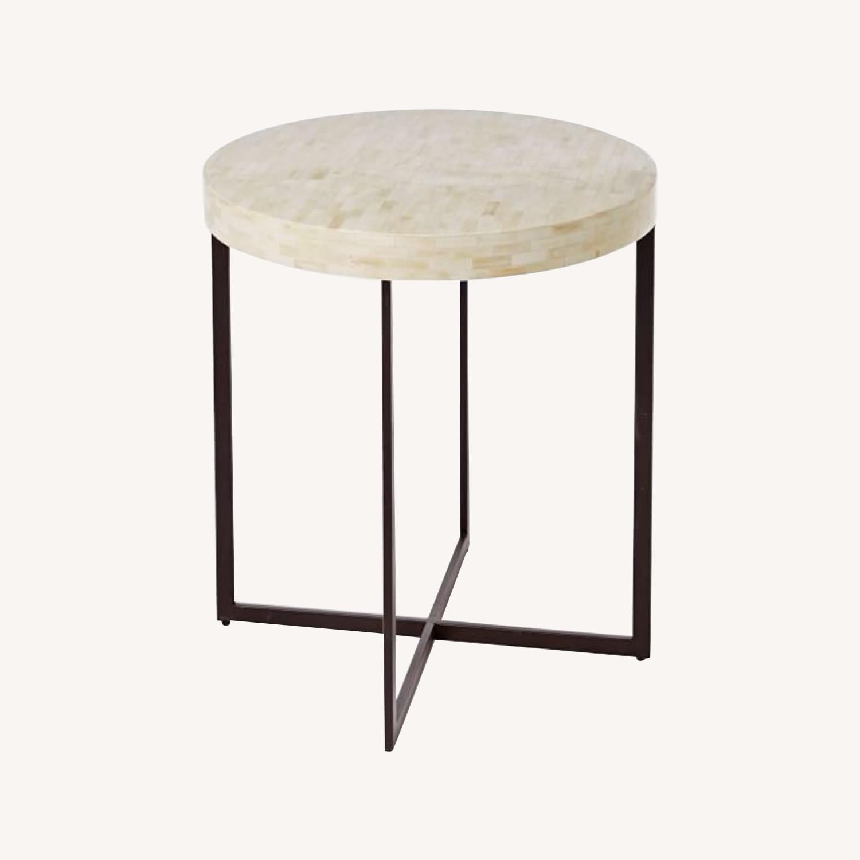 West Elm Bone Side Table