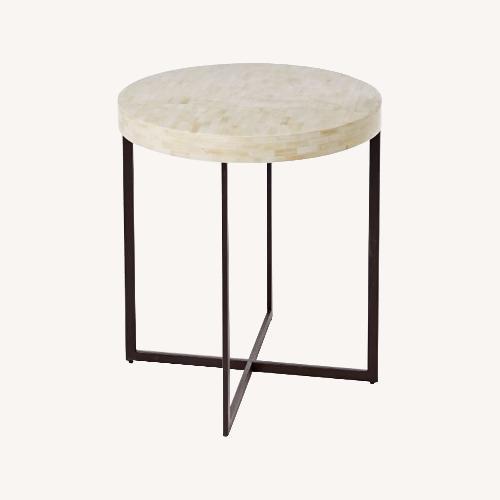 Used West Elm Bone Side Table for sale on AptDeco