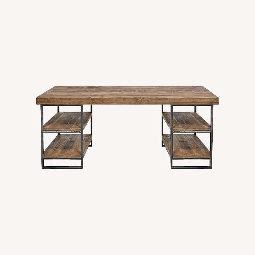 Used West Elm Hewn Wood Desk for sale on AptDeco