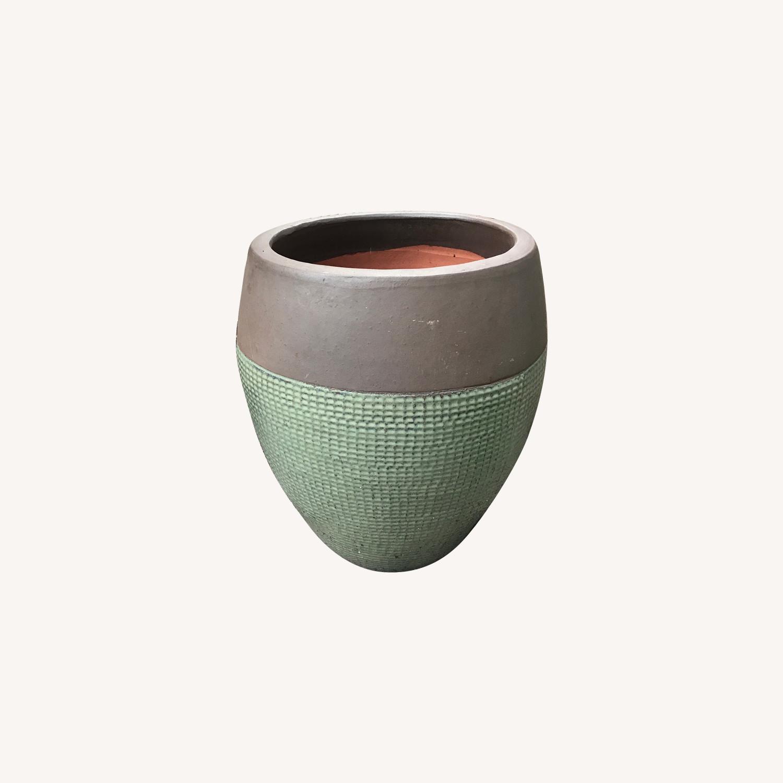 Large Outdoor Stone Pot Planter