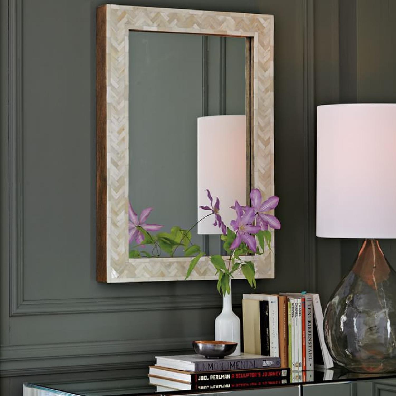 West Elm Parsons 34 Floor Mirror - image-1